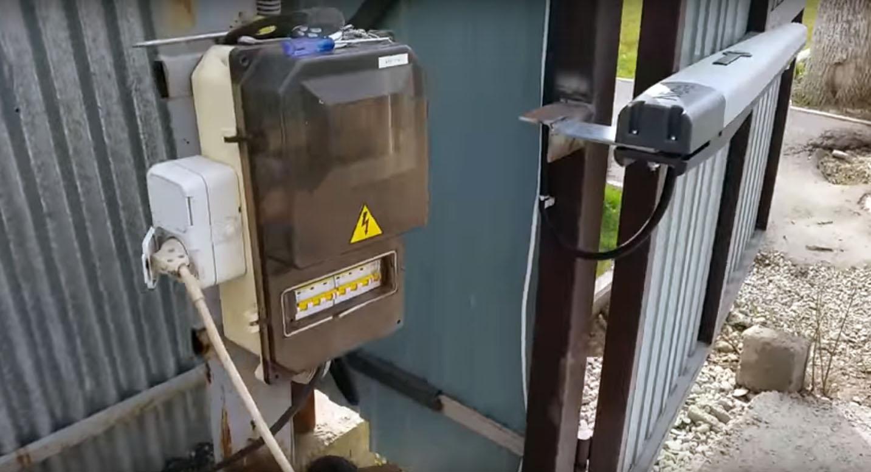 Автоматика на распашные ворота
