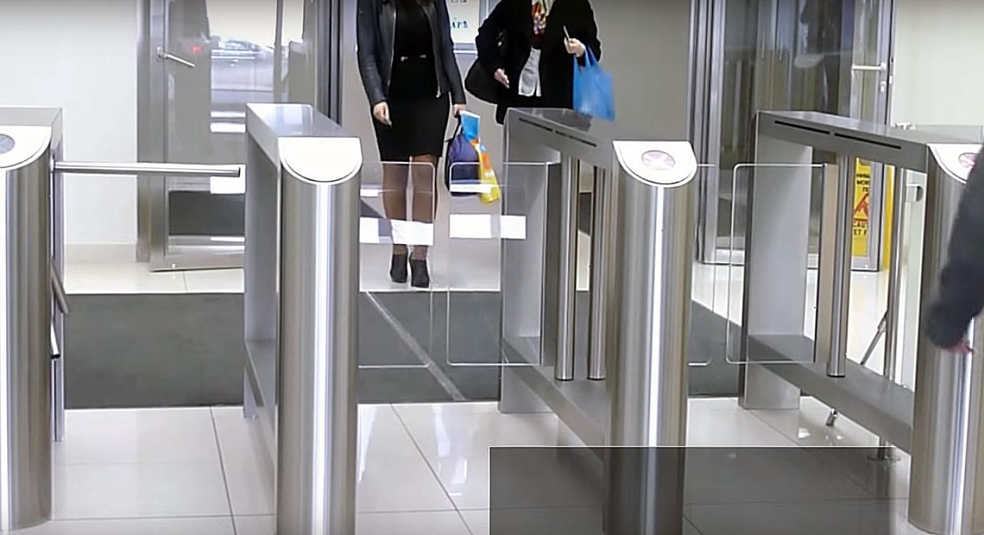 Установка турникетов