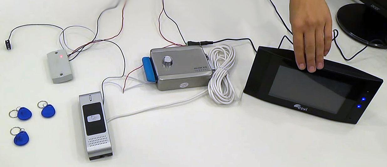 Компоненты системы видеодомофона