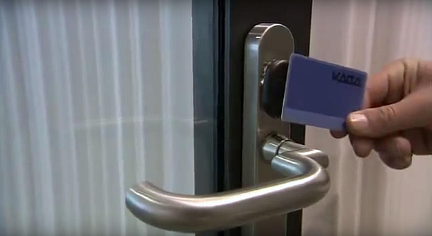 Использование комплексов для контроля доступа для коммерческих помещений