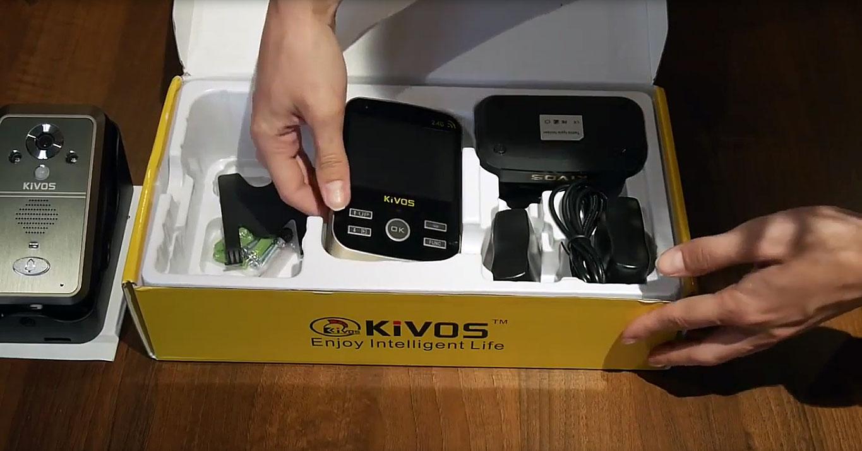 Комплектация беспроводных видеодомофонов