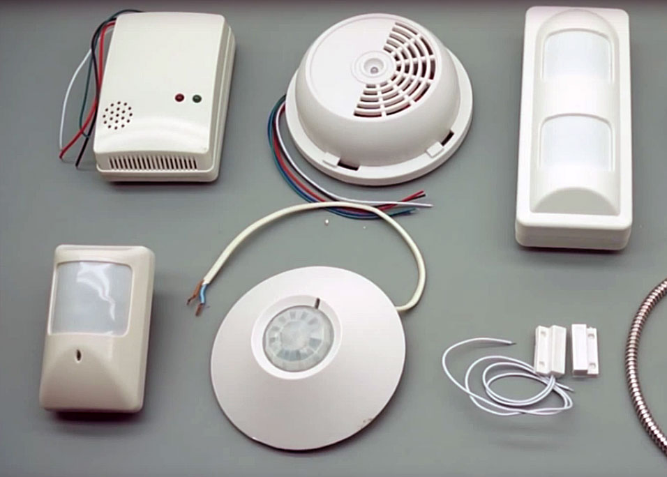 Компоненты системы пожарной сигнализации
