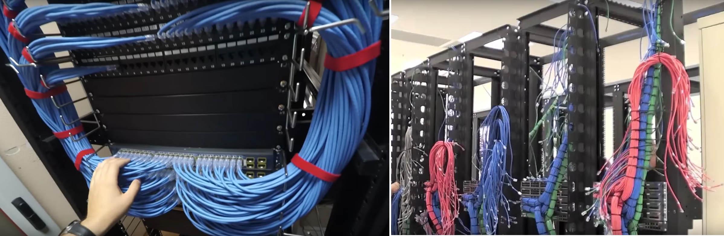 Обслуживание структурированных сетей