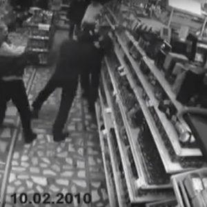 Монтаж камер наблюдения в магазине
