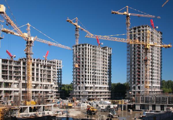 Монтаж видеонаблюдения на строительной площадке