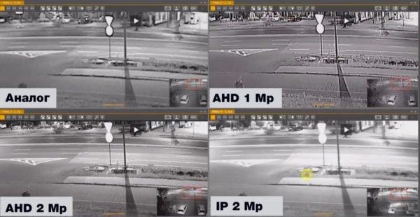 Сравнение камер ahd и ip