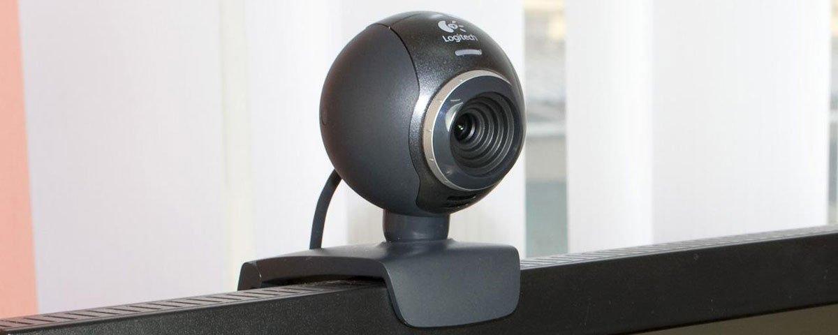 веб камера домашняя на мониторе
