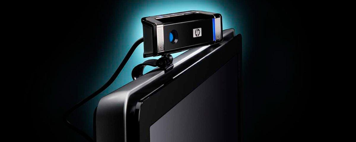 Веб камера на мониторе
