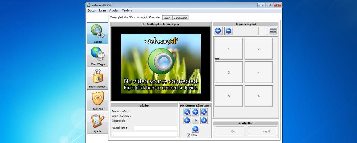 Программа для видеонаблюдения webcamxp