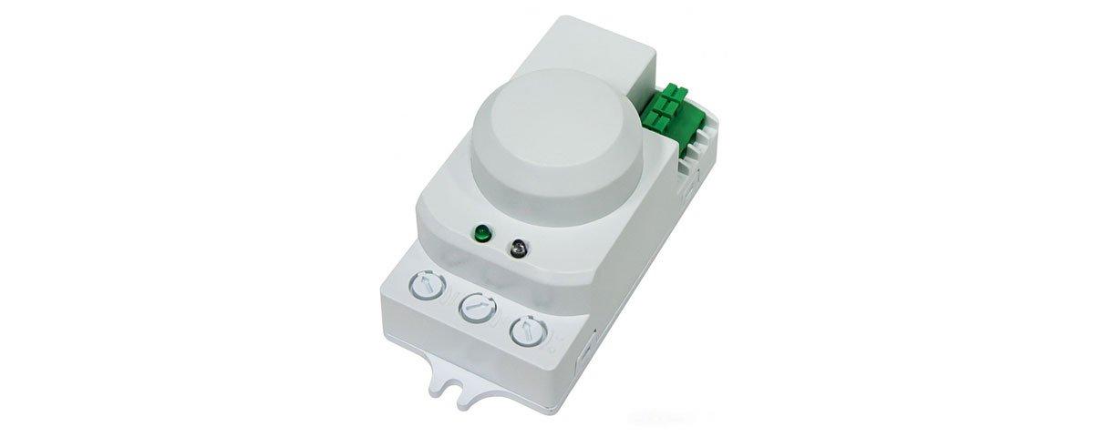 Микроволновой фонарь с датчиком движения