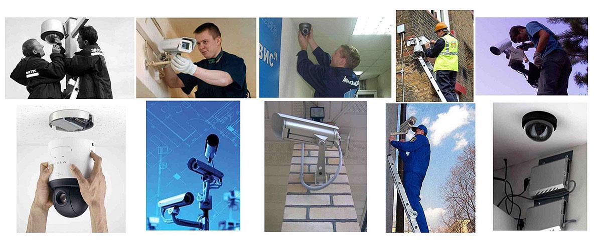 Установка видеонаблюдения в дом